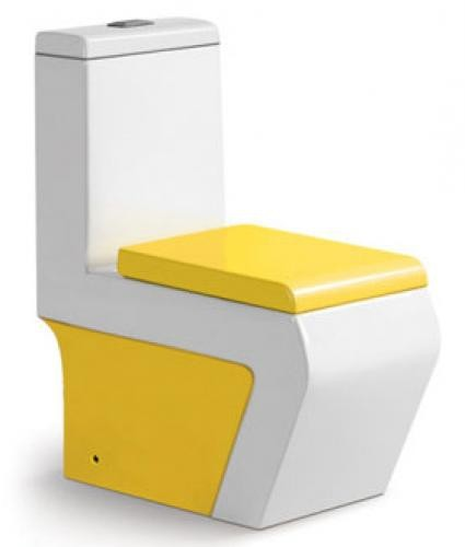 унитаз-моноблок Laguraty 3952 yellow