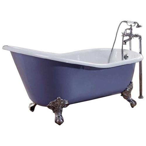 чугунная премиум-ванна  Recor Slipper 170x76 см