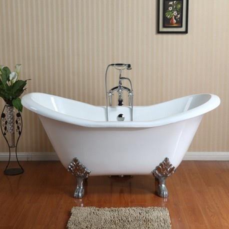 фигурная ванна на ножках Magliezza Julietta CR