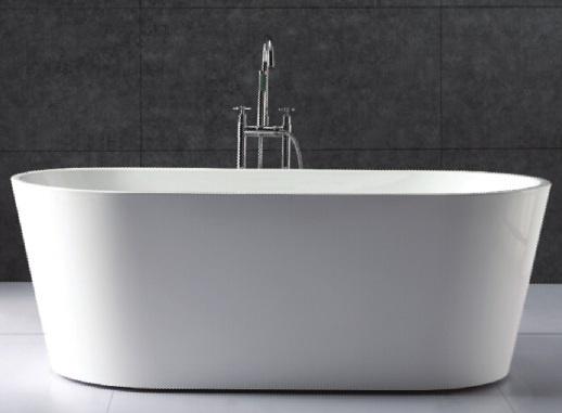 овальная акриловая ванна Gemy G9209