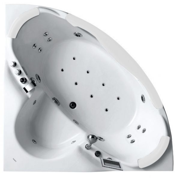угловая ванна премиум-класса Gemy G9025-II K