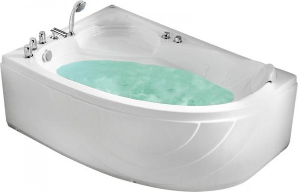 угловая ванна с сидением Gemy G9009 B