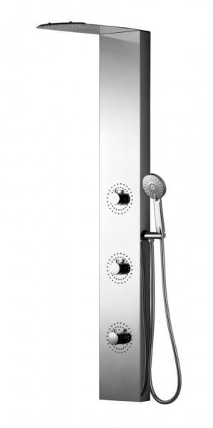 душевая гидромассажная панель Black & White W52