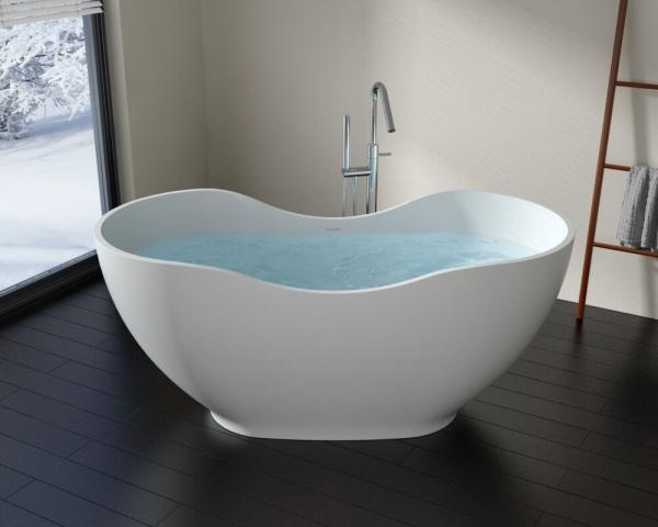 мраморная ванна NSbath NSB-16679