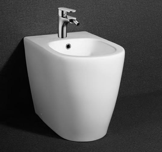 Биде напольное Arcus  К-202 интерьеры ванных комнат ретро